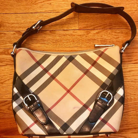 4d7390f50ef Burberry Handbags - Authentic Burberry Nova Check Shoulder Handbag